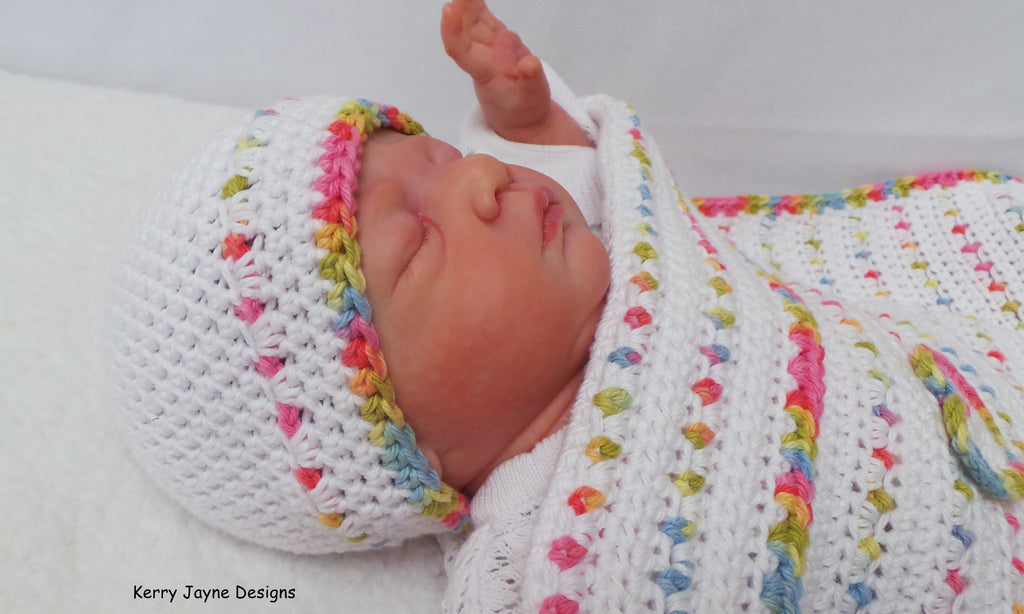 Jelly Tots Baby Hat Pattern UK – Kerry Jayne Designs 533739d1bf0