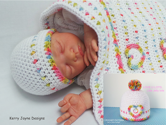Jelly Tots Baby Blanket Pattern