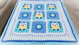 Owl blanket crochet pattern