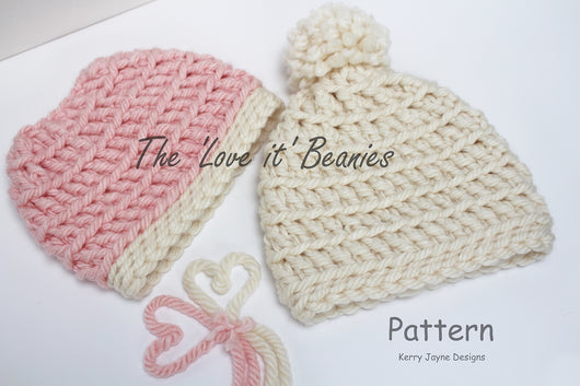 LOVE IT Beanie Twin Pack USA