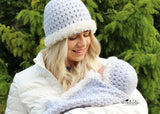 Blanket and hat crochet pattern