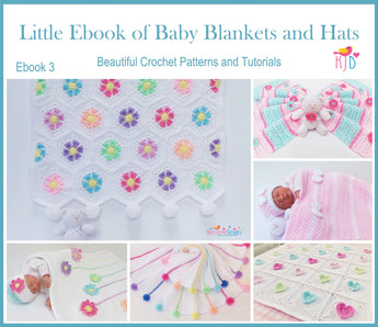 Little Ebook of Baby Blankets and Hats UK