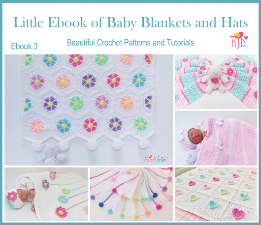 Little Ebook of Baby Blankets and Hats USA