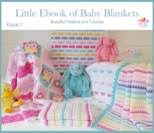 Little Ebook of Baby Blankets