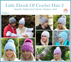 Little Ebook of Crochet Hat Patterns 2