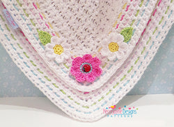 Little Ladybird blanket crochet patten