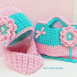 Colourful fun crochet set for kids