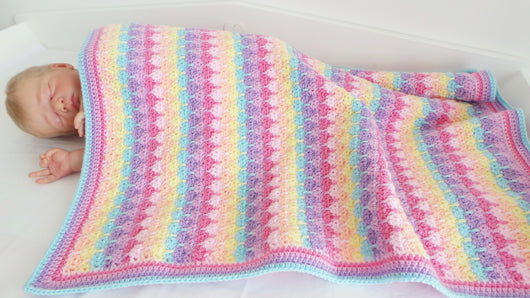 Rainbow blanket pattern