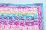 How to crochet a straight border