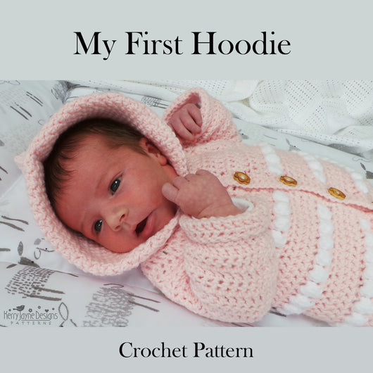 Crochet Baby Hooded Jacket Pattern
