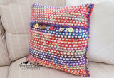 Peruvian Dance Pillow Pattern