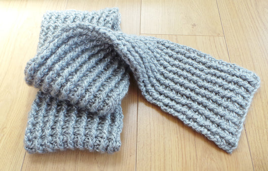 Nordic Ribbed Hat And Crocheted Scarf Pattern Usa Kerry Jayne Designs