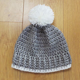 Ribbed beanie pattern