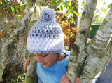 Nordic Snow Hat Pattern Child Size