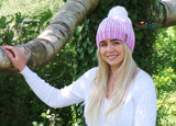 Trendy crochet hat pattern
