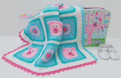 Piggy Blanket for fun crochet