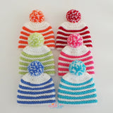 Striped Hat crochet pattern