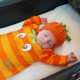 Baby pumpkin hat pattern