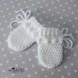 Baby gloves crochet patterns
