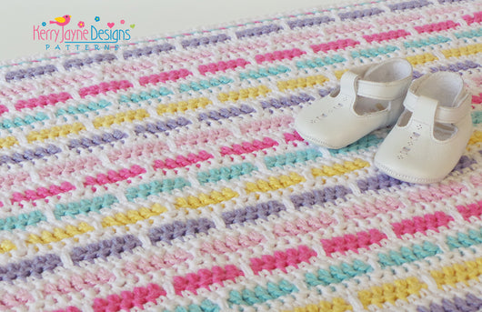 Colourful Baby Blanket Pattern
