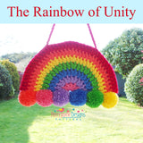 Rainbow of Unity crochet pattern