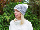 Ribbed Style Nordic Hat pattern