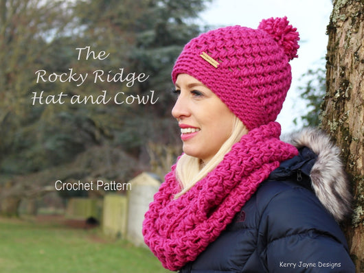 Crochet Hat and Cowl Pattern