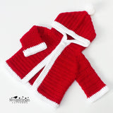 Hooded Santa jacket pattern