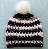 Pattern for crochet bobble hat