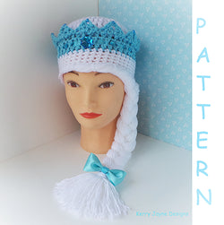 Frozen Ice Queen Hat Pattern UK