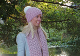 Hat And Scarf crochet Pattern