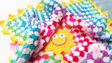 Crocheted Rainbow Blanket Pattern