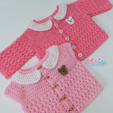 Girls cardigan Crochet pattern