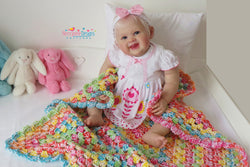 Toot sweets crochet blanket pattern