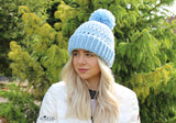 Double Brim Beanie Crochet pattern