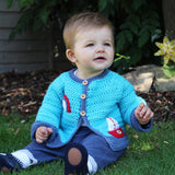 Freedom Jacket Crochet Pattern