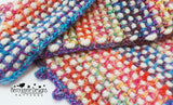 Crochet colours in Cushion Pattern