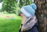 The Nordic Snow Hat Crochet Pattern