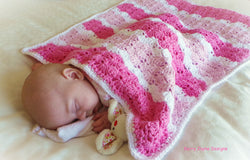 Crochet shells blanket pattern