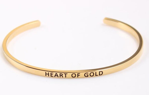 Hearth Of Gold - Golden Mantra Bracelet