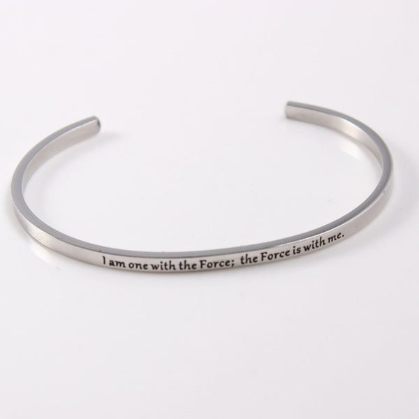 The Force - Mantra Bracelet