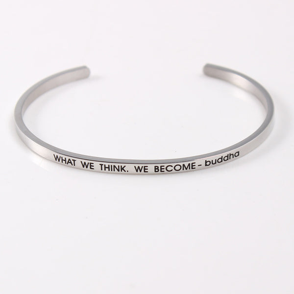 Think & Become - Mantra Bracelet