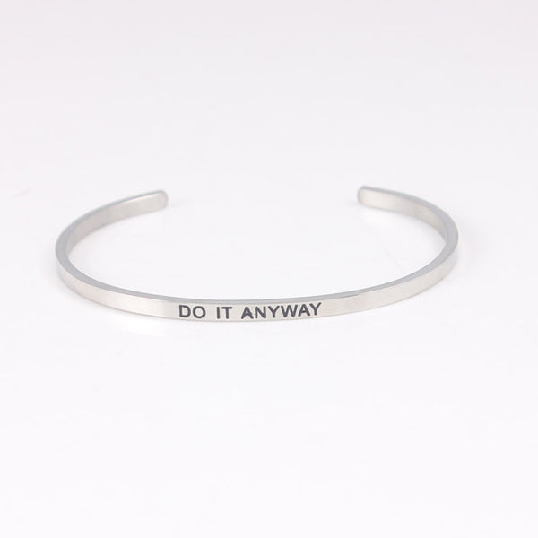 Do It Anyway - Mantra Bracelet