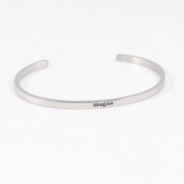 Imagine - Mantra Bracelet