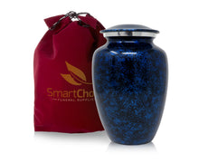 Royal Forest Blue Cremation Urn for Human Ashes