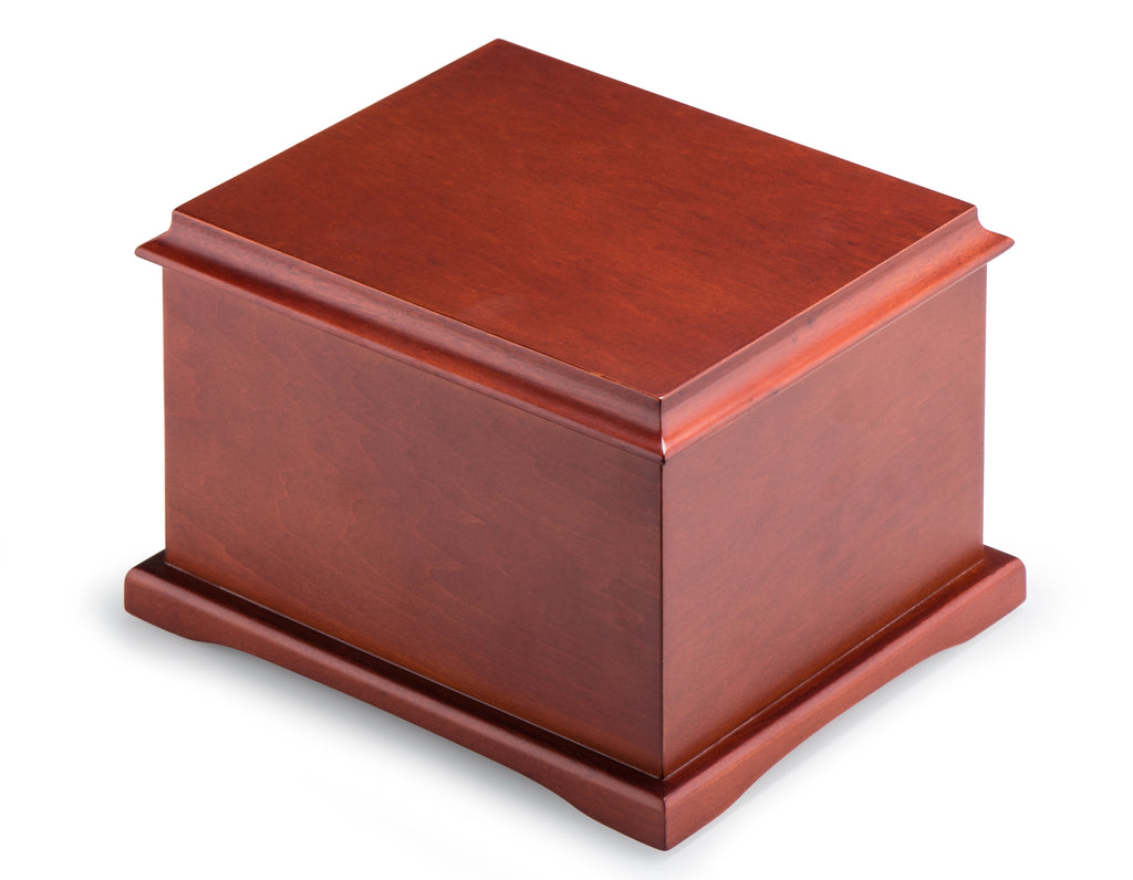 Wood Cremation Urn for Human Ashes – Funeral Adult Urn