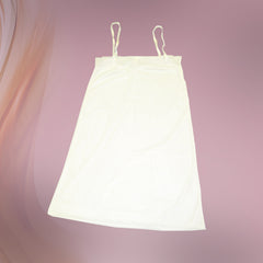 Ladies White Full Slips