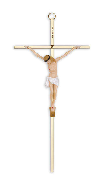 (SCFC510) Brass Crucifix