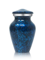 SmartChoice Keepsake urns Set of 4 - Color Forest Blue