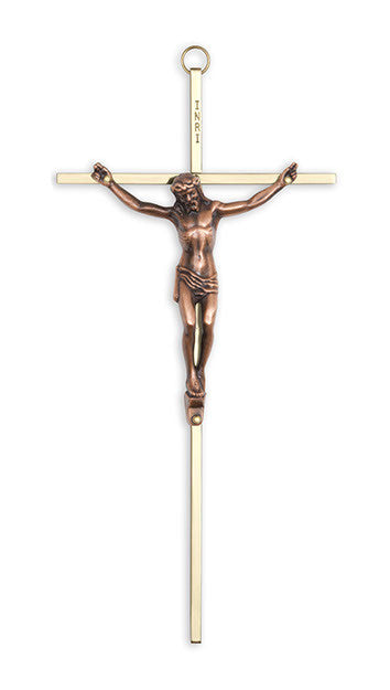 (SCLC510) Brass Crucifix